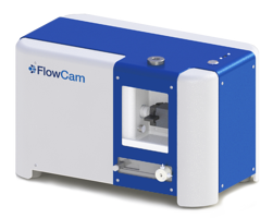 FlowCam 5000 rendering w. logo - transparent background
