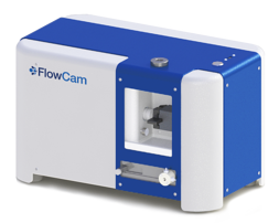 FlowCam 5000 rendering w. logo - transparent background