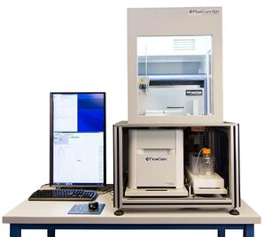 FlowCam Automated Liquid Handler for particle analysis and characterization fluid imaging technologies
